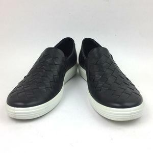ECCO Soft 7 Woven Slip-On Sneaker sz 9